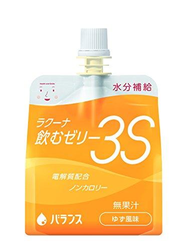 ラクーナ 飲むゼリー 3S ゆず風味 150g×30パック