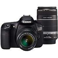 Canon デジタル一眼レフカメラ EOS 60D ダブルズームキット EF-S18-55mm/EF-S55-250mm付属 EOS60D-WKIT
