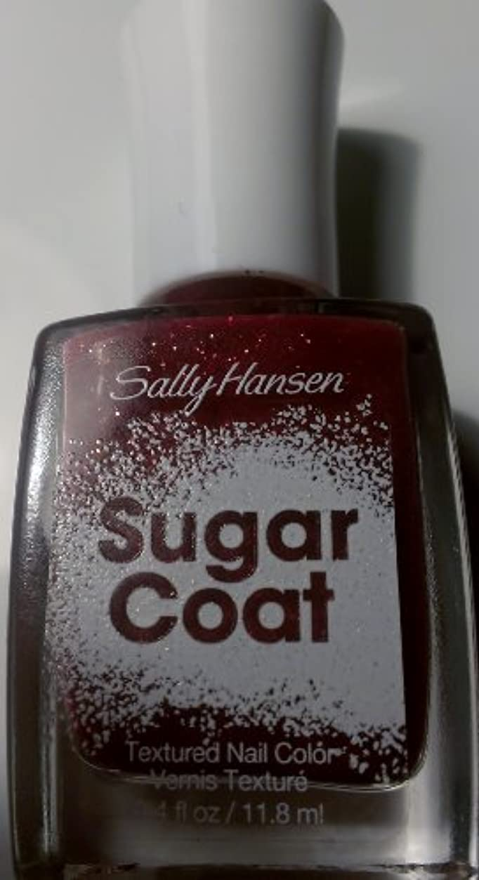 既に理由激怒SALLY HANSEN SUGAR COAT TEXTURED NAIL COLOR #230 PINK SPRINKLE