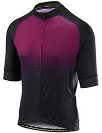 Alturaプリズムplum-black 2018 Peloton Short Sleeved Cycling Jersey ... dcd68526e