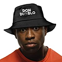 Don-Diablo 帽子 人気 バケットハット キャップ 漁師帽 つば広 ハット 日よけ帽子 ソフトハット 熱中症予防 おしゃれ 折りたたみ帽子 UVカット レディース メンズ