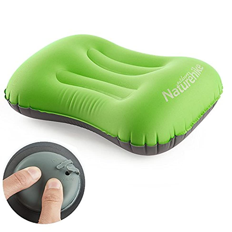 普遍的なサミット素晴らしい良い多くのTentock ハンドプレス 空気注入式枕 超軽量 コンパクト 空気注入式 キャンプ用枕 旅行枕 首と腰のサポートに