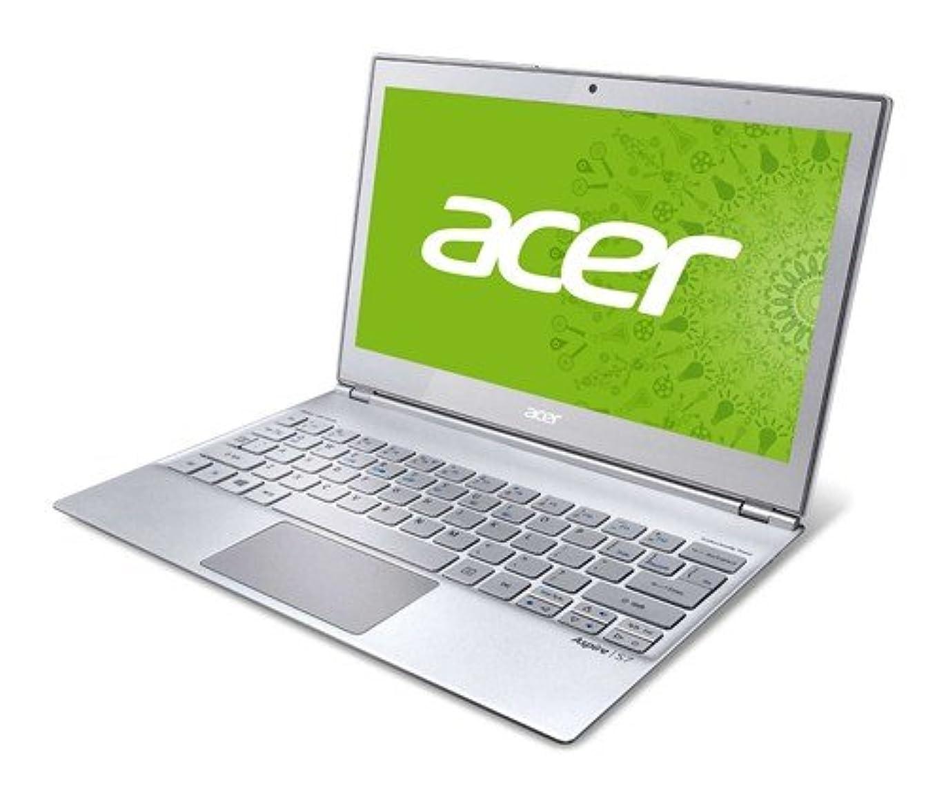 革新クラック幻滅するacer  Aspire S7シリーズ ノートPC ( 11.6型 / Corei7-3517U / 4GB / 128GB SSD / Win8 64bit / シルバー / タッチ対応 )  S7-191-F74Q