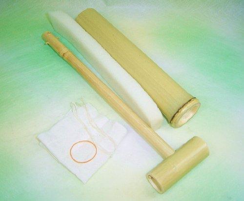 「竹の水鉄砲」の簡単工作用キット
