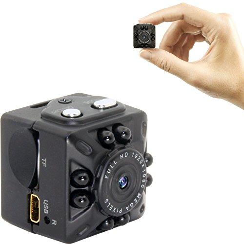 超小型隠しカメラ 高画質1200万画素カメラ 赤外線ライト暗...
