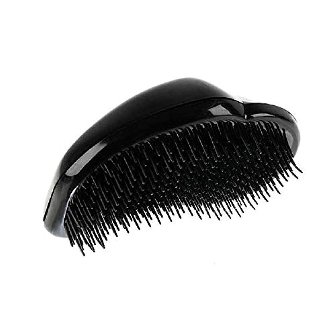 下手コンパニオンヒューズ1st market 黒のプラスチック製の髪の櫛理髪の櫛の女性のエアバッグの櫛のマッサージの櫛のヘアブラシ帯電防止デタングルの櫛パーフェクト軽量ポケットサイズ1ピース耐久性と便利