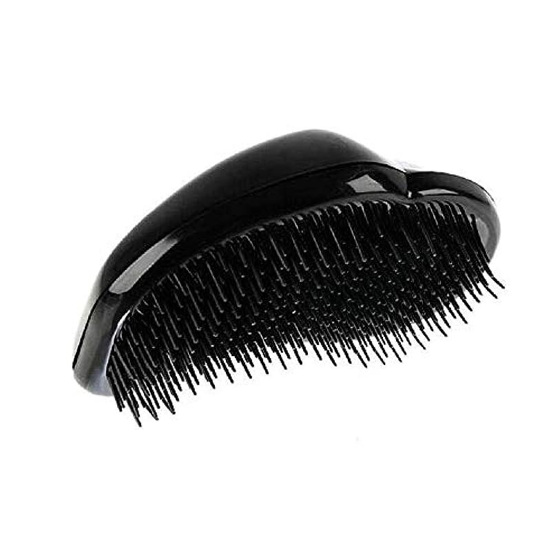 交換可能振る数学者1st market 黒のプラスチック製の髪の櫛理髪の櫛の女性のエアバッグの櫛のマッサージの櫛のヘアブラシ帯電防止デタングルの櫛パーフェクト軽量ポケットサイズ1ピース耐久性と便利