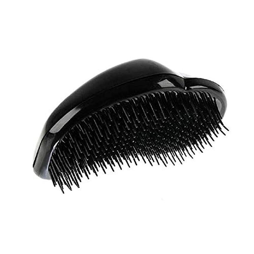 通貨極地消去1st market 黒のプラスチック製の髪の櫛理髪の櫛の女性のエアバッグの櫛のマッサージの櫛のヘアブラシ帯電防止デタングルの櫛パーフェクト軽量ポケットサイズ1ピース耐久性と便利