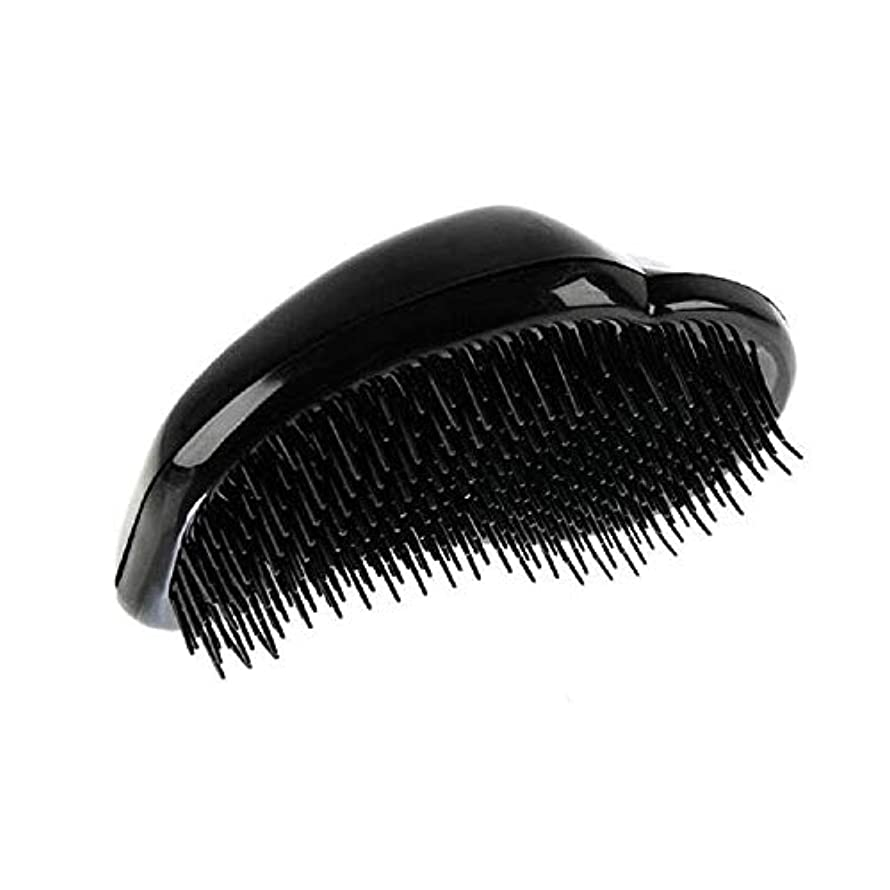 マウスダイエットビーズ1st market 黒のプラスチック製の髪の櫛理髪の櫛の女性のエアバッグの櫛のマッサージの櫛のヘアブラシ帯電防止デタングルの櫛パーフェクト軽量ポケットサイズ1ピース耐久性と便利