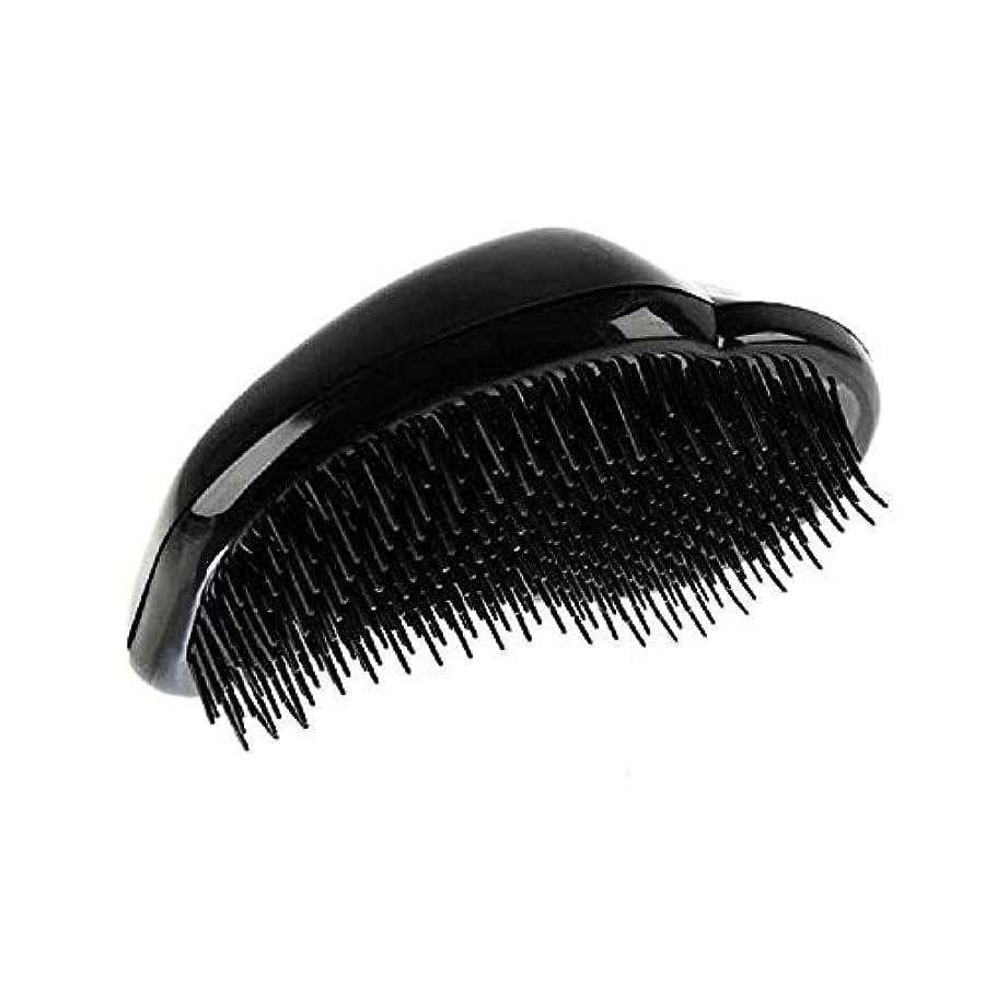無秩序純粋に聖書1st market 黒のプラスチック製の髪の櫛理髪の櫛の女性のエアバッグの櫛のマッサージの櫛のヘアブラシ帯電防止デタングルの櫛パーフェクト軽量ポケットサイズ1ピース耐久性と便利
