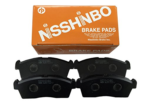 NISSHINBO ( 日清紡 ) ブレーキパッド 【 フロント用 】 トヨタ ポルテ / シエンタ PF-1540
