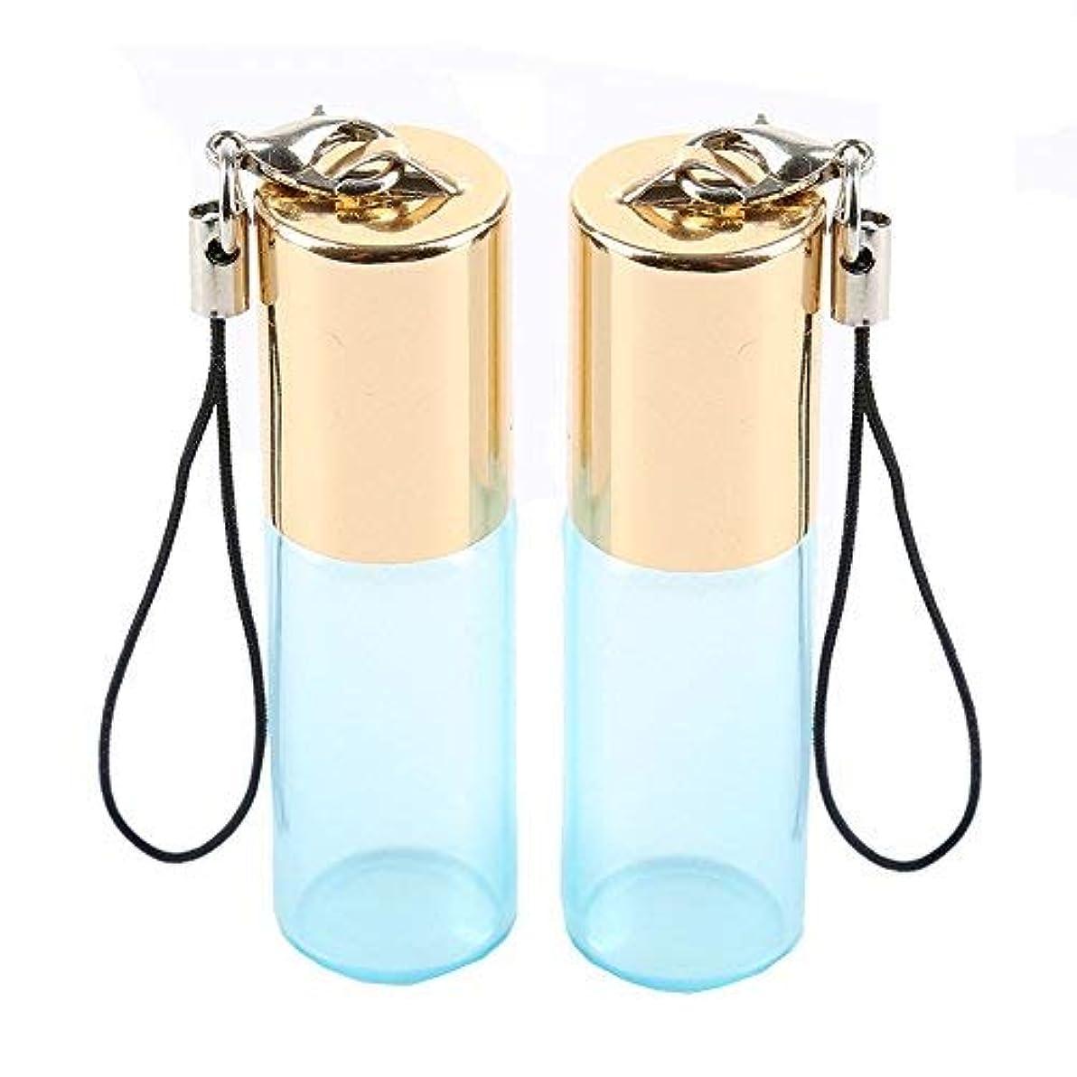 好色な登山家突然Empty Roller Bottles - Pack of 12 5ml Pearl Colored Glass Roll-on Bottles for Essential Oil Container with Golden...