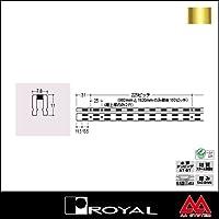 e-kanamono ロイヤル 棚柱 チャンネルサポート(シングル) ASF-1 3000mm APゴールド