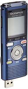 OLYMPUS ICレコーダー VoiceTrek 4GB リニアPCM対応 MicroSD対応 BLU ブルー V-822