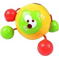 YChoice 可愛い赤ちゃんのおもちゃ ギフト 子供の創造音楽 回転ボール おもちゃ ジャンピングボール 電動パズル 音楽 ダンシングボール