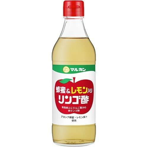 マルカン酢 マルカン 蜂蜜&レモン入り リンゴ酢 360mL 4902711142498