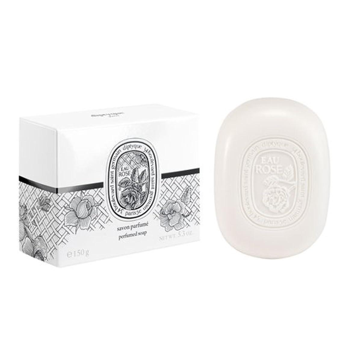 反抗有益頑張るディプティック フレグランスソープ オーローズ 150g DIPTYQUE EAU ROSE SOAP [並行輸入品]