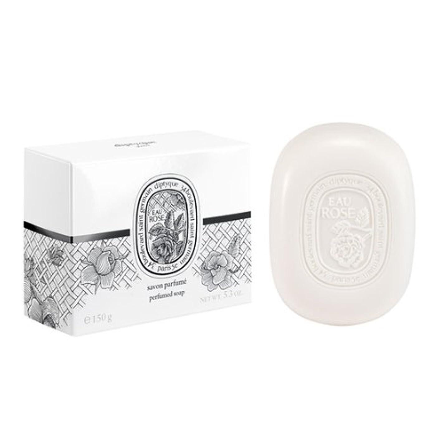 迷路バスルームリスディプティック フレグランスソープ オーローズ 150g DIPTYQUE EAU ROSE SOAP [並行輸入品]