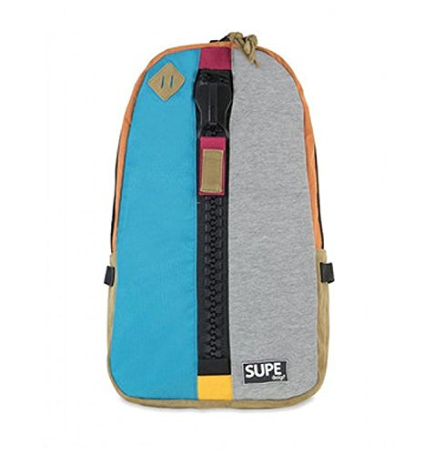 Supe Design Multicolor Day Backpack Pop Blue Hawaii Sd006 [並行輸入品]