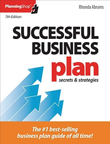 Download Successful Business Plan: Secrets & Strategies 1933895829