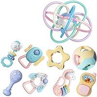 赤ちゃんラトル、赤ちゃんおもちゃタンバリンラトルセンスラトル教育玩具赤ちゃんラトル新生児ラトルラトルセット赤ちゃん赤ちゃん ( Color : A )