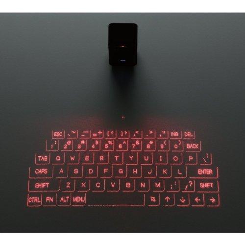 キーボード投映型Bluetoothプロジェクションキーボード「TK-PBL042BK」