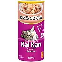 カルカン ハンディ缶 成猫用 1歳から まぐろとささみ 160g×3缶×18個 [キャットフード]