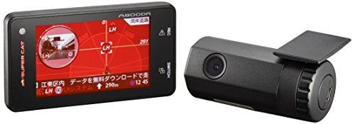 ユピテル(YUPITERU) レーダー探知機 小型オービス対応+ドライブレコーダー連動+安全運転支援機能付 A800DR