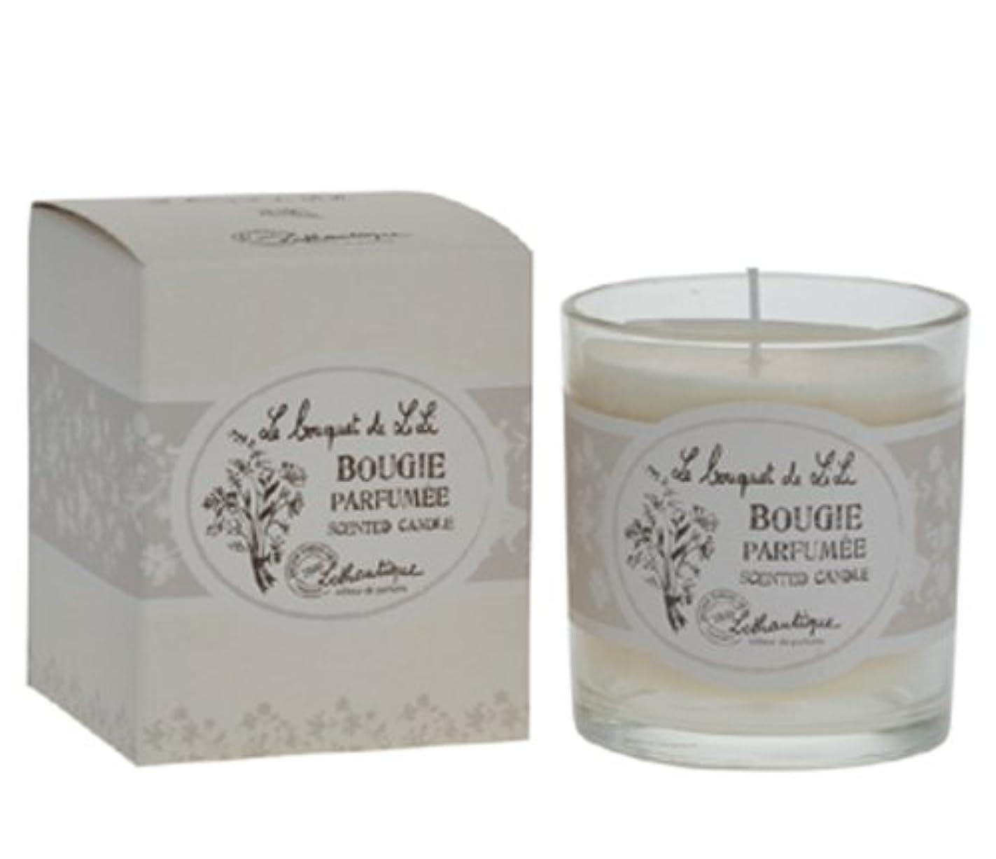 本気生損失Lothantique(ロタンティック) Le bouquet de LiLi(ブーケドゥリリシリーズ) キャンドル 140g 3420070029065