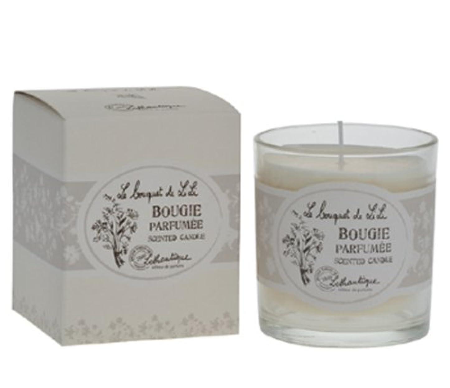 歌リブ説明Lothantique(ロタンティック) Le bouquet de LiLi(ブーケドゥリリシリーズ) キャンドル 140g 3420070029065