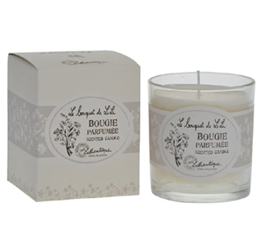 ぴったり理想的には排除Lothantique(ロタンティック) Le bouquet de LiLi(ブーケドゥリリシリーズ) キャンドル 140g 3420070029065