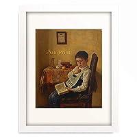 イジドール・カウフマン Isidor Kaufmann 「A Yeshiva Boy.」 額装アート作品