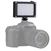 Prament PU4096ポケット96 LED 860LMプロ写真ビデオライトスタジオライトDSLRカメラ用