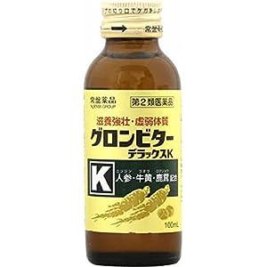 【第2類医薬品】グロンビターデラックスK 100mL×50