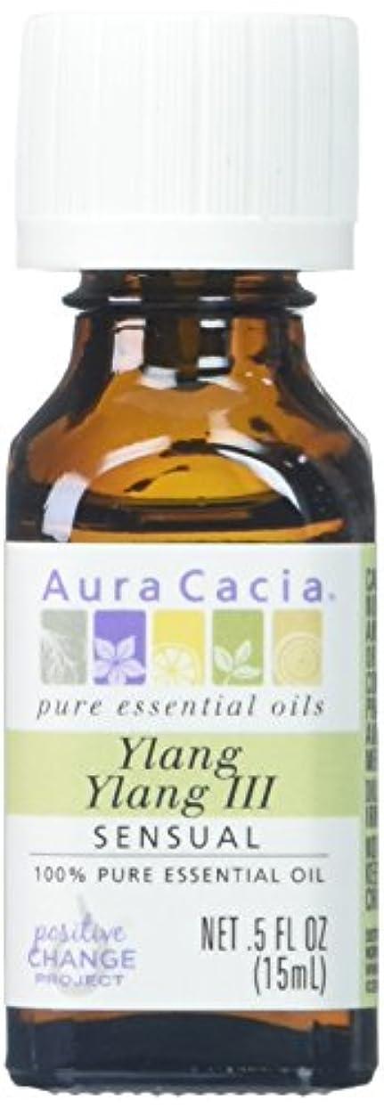 文献逸脱リクルートAura Cacia Ylang Ylang III Essential Oil 15 ml (並行輸入品)