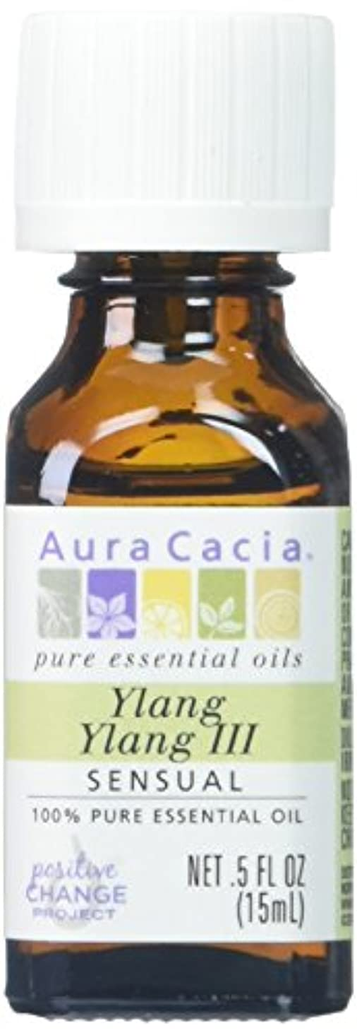 協力ニックネーム科学的Aura Cacia Ylang Ylang III Essential Oil 15 ml (並行輸入品)
