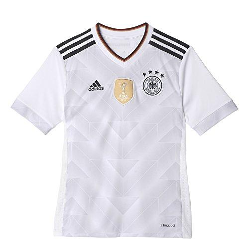 アディダス(adidas) ジュニア ドイツ代表 サード レプリカユニフォーム半袖 BSK87 B47863 ホワイト/ブラック 150