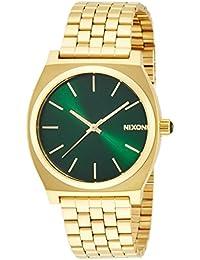 [ニクソン]NIXON TIME TELLER: GOLD/GREEN SUNRAY NA0451919-00 【正規輸入品】
