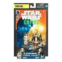 Star Wars 2010 Comic Book Action Figure 2Pack Dark Horse Star Wars Empire #8 Camie Marstrap and Laze Fixer Loneozner [並行輸入品]
