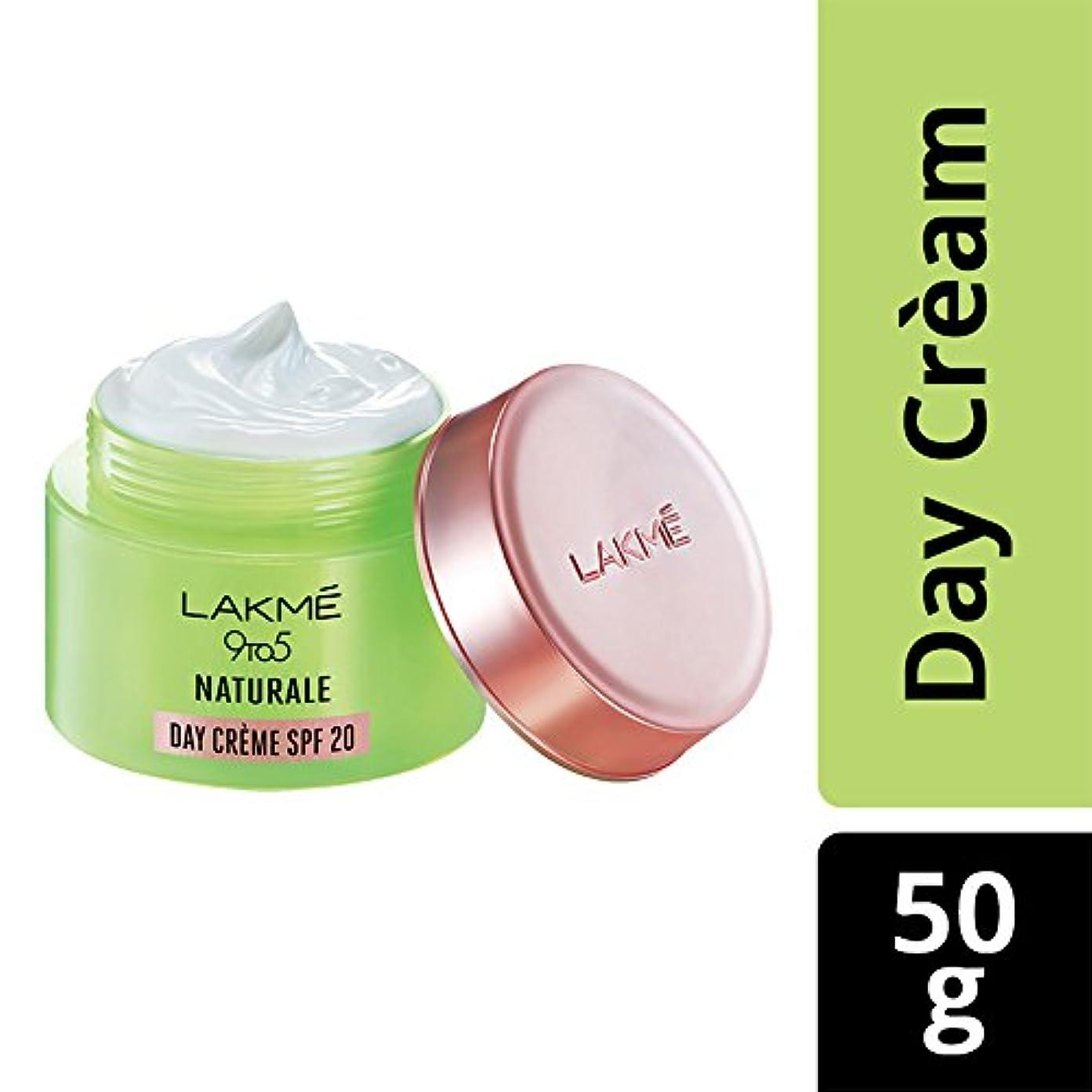 比較女性学習Lakme 9 to 5 Naturale Day Creme SPF 20, 50 g