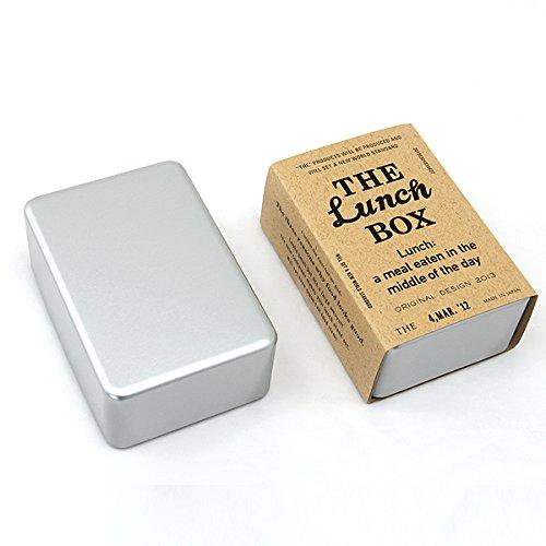 大日本市 THE LUNCHBOX(ザ・ランチボックス)  アルミニウムのお弁当箱(1個)