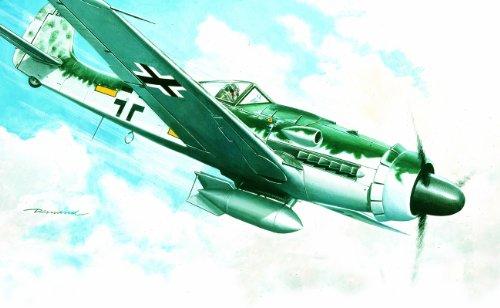 イタレリ 1128 1/72 フォッケウルフ Fw190 D-9