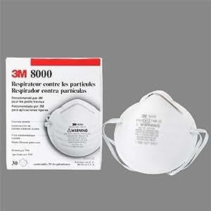 3M社製 N95マスク 【型番8000N95】 〔1箱(30枚入り)〕