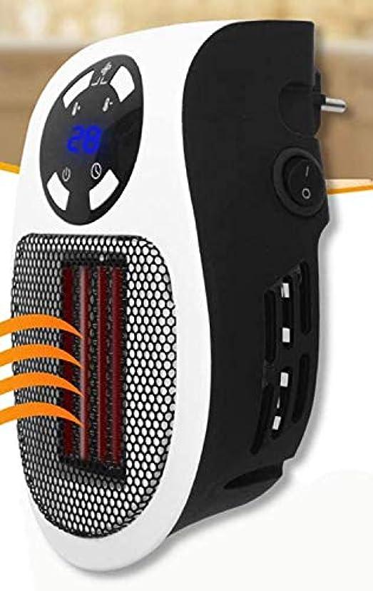 エレクトロニック幸運なことにやさしい2020New500Wポータブル電気ヒーター、冬用のミニファンヒーターデスクトップ家庭の壁ハンディ暖房ストーブラジエーターウォーマーマシン,110v