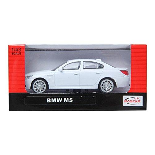 Rastar 1:43 BMW M5 White M Series DIECAST カーコレクション [並行輸入品]