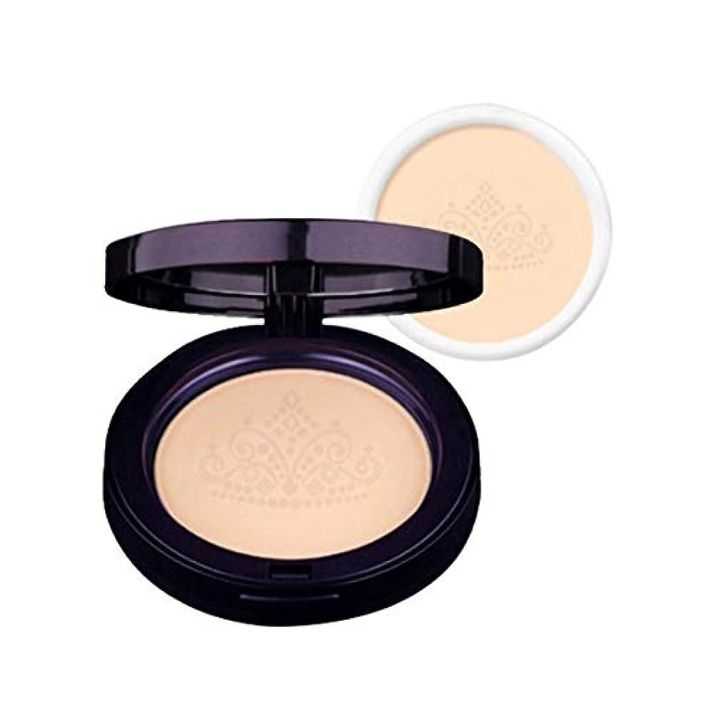 植物学者お手入れ承認ラクベルクイーンズファクト本品+リピルセット2カラー韓国コスメ、Lacvert Queen's Pact+ Refill Set 2 Colors Korean Cosmetics [並行輸入品] (No. 21)