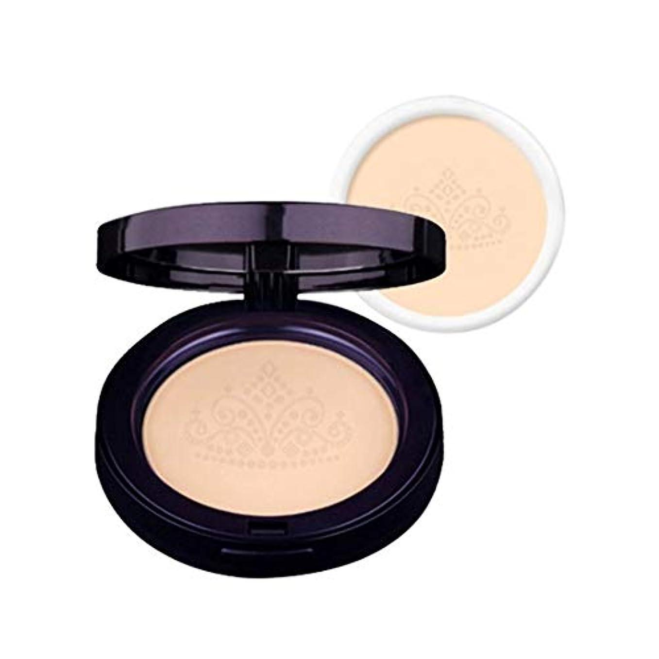 損傷記念品証人ラクベルクイーンズファクト本品+リピルセット2カラー韓国コスメ、Lacvert Queen's Pact+ Refill Set 2 Colors Korean Cosmetics [並行輸入品] (No. 21)