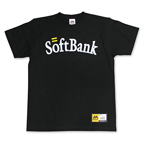 SoftBank HAWKS(ソフトバンクホークス) Majestic製背番号Tシャツ(松坂/ビジター/Lサイズ)