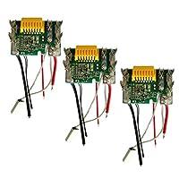 KESOTO リチウム電池PCB板 チップボード Makita BL1830 BL1840 BL1850用 3個 交換部品 耐久性