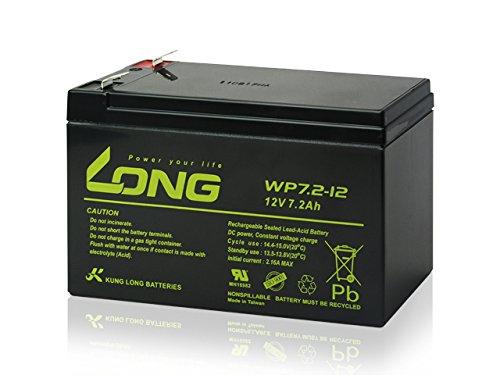 LONG 完全密封型鉛蓄電池 WP7.2-12 12V7.2Ah